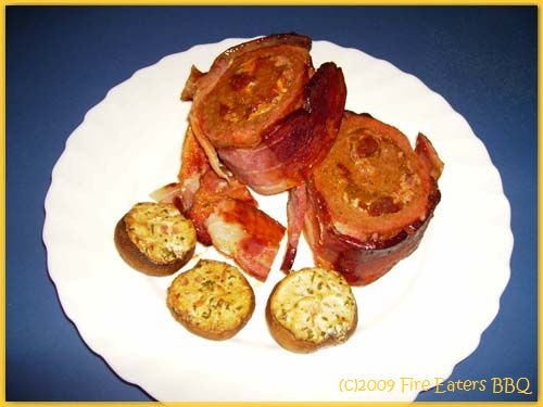"""Bacon Explosion """"Fire Eater Style"""""""