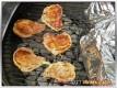 """Koteletts """"Calzone"""" auf dem Grill"""