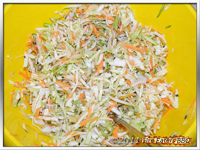 Bild - ein Apfel-Estragon-Krautsalat, ideal für die Grillparty