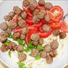Makkaroni-Salat mit Ricotta-Sauce