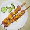 Mango-Schweinefleisch-Spieße