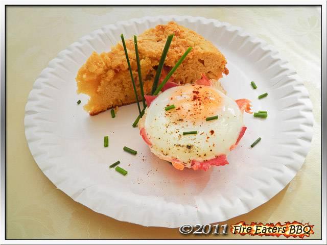 Bild - ein Barbecue-Frühstück aus dem Grill