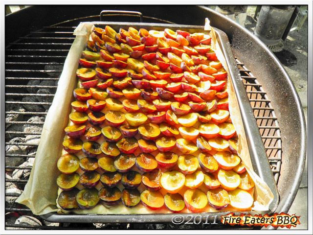 Fire Eaters Bbq Pflaumenkuchen Aus Dem Kugelgrill