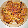 Pizzaschnecken aus dem Kugelgrill