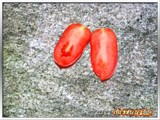 Bild - San Marzano Tomate im Schnitt