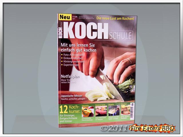 Bild - Titelblatt der Kochschule von Data Becker