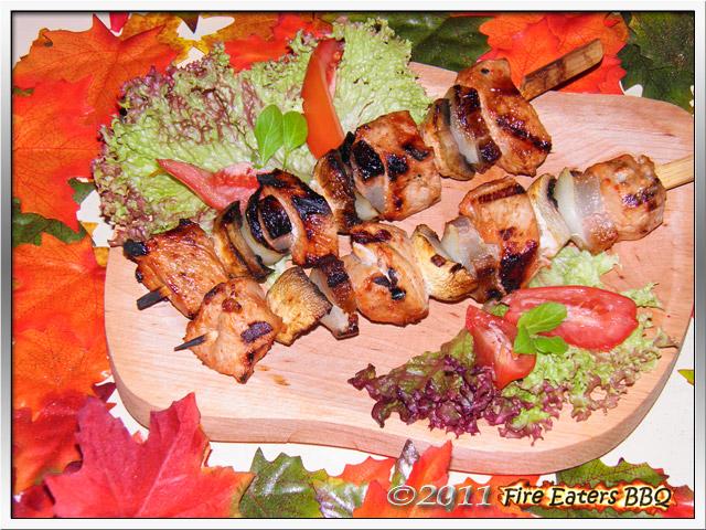 Bild - Eine Portion Ungarisches Räuberfleisch vom Grill