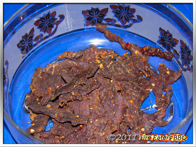 Selbstgemachtes Beef Jerky