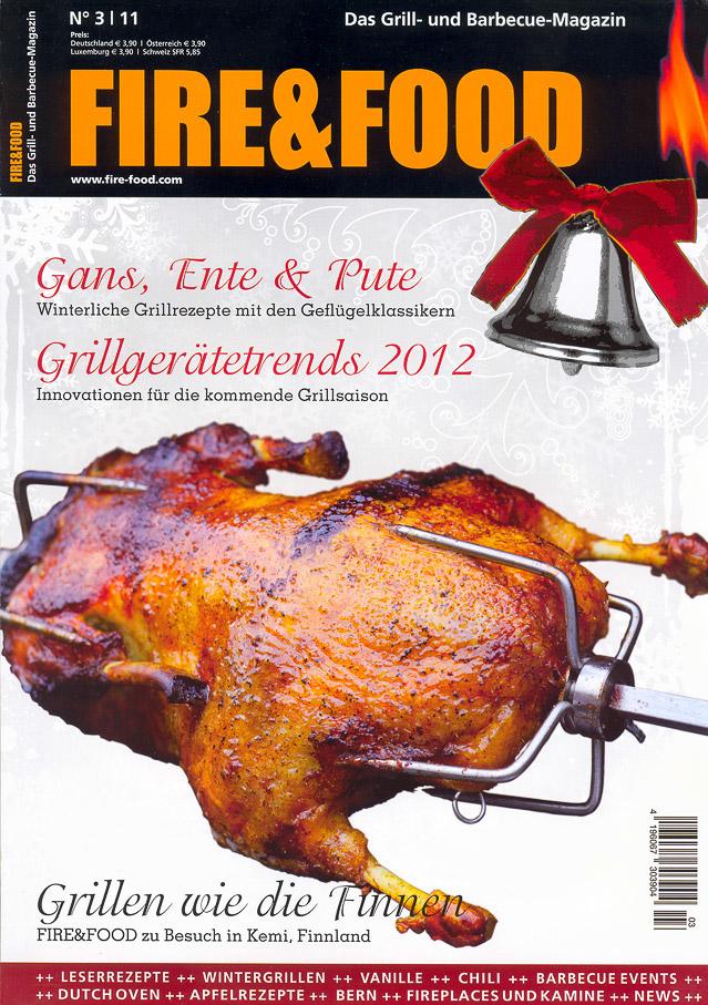 Cover der Fire&Food Ausgabe 3/2011
