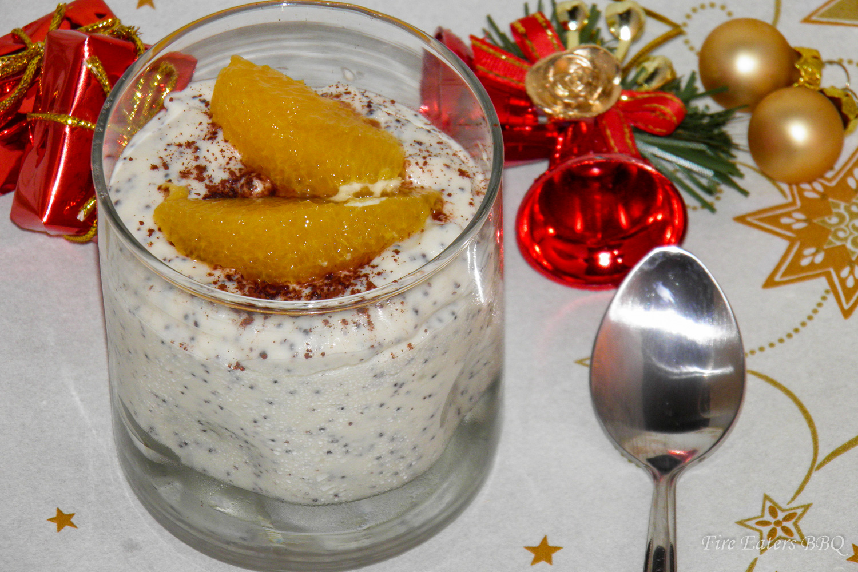 Marzipan-Mohn-Creme – ein tolles Dessert