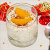 Dessert: Marzipan-Mohn-Creme