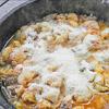 Blumenkohlgulasch mit Parmesan aus dem Dutch Oven