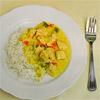 Einfaches Puten-Curry aus dem Dutch Oven