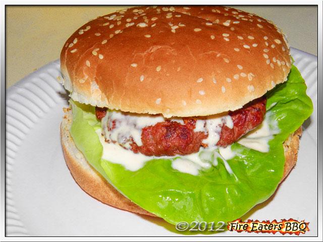 Foto - Knoblauchburger mit Whiskey-Knoblauchsauce