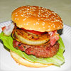 Rezeptfoto - Whiskey-Burger