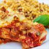Rezeptbild - Hähnchen-Käse Kasserolle mit Croutons