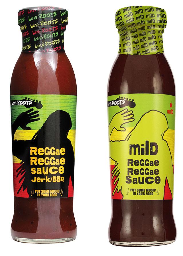 Reggae Reggae Sauce in zwei Varianten
