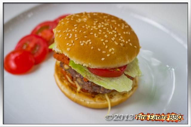 Ein Tex-Mex Burger
