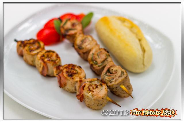 Saltimbocca-Spieße vom Grill
