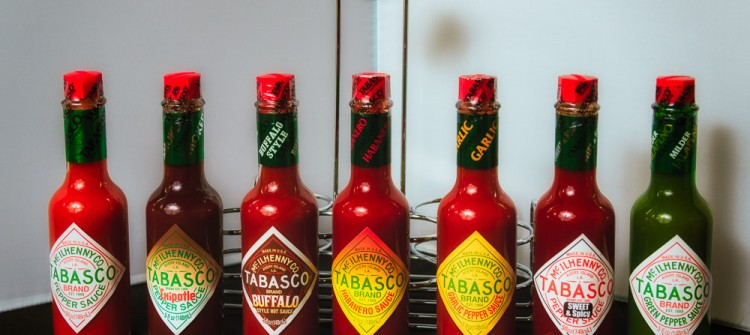 Tabasco-Sortiment