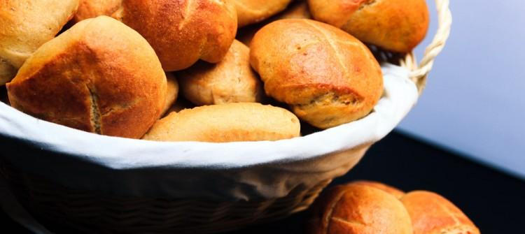 Klassische Brötchen - Fertig gebacken