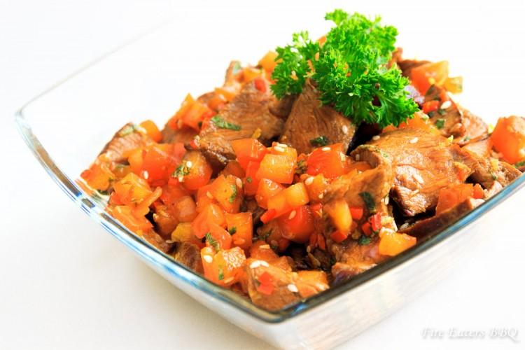 Rindfleisch-Salat