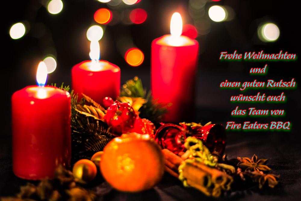 Wir wünschen allen ein frohes besinnliches Weihnachtsfest