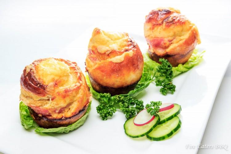Tolles Fingerfood: Käse-Bacon Rolls