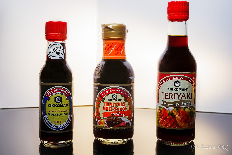Die drei Saucen von Kikkoman im Test