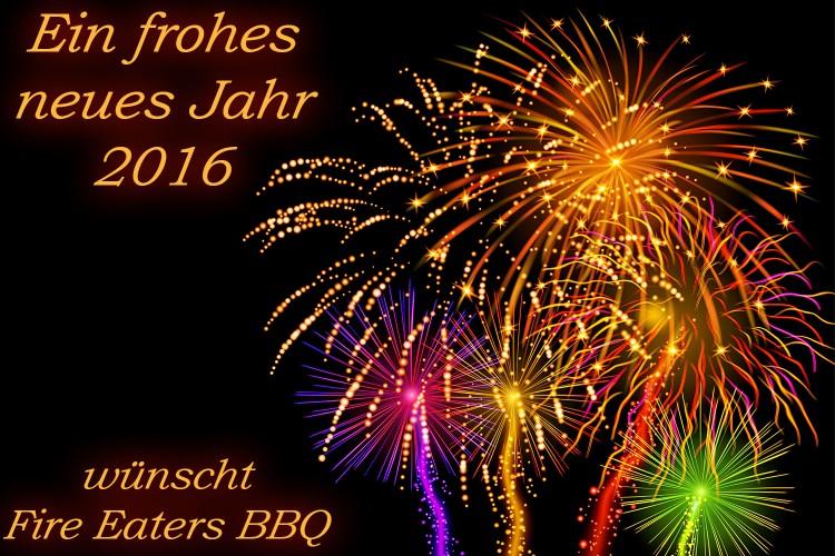 Fire Eaters BBQ Feuerwerk 2016