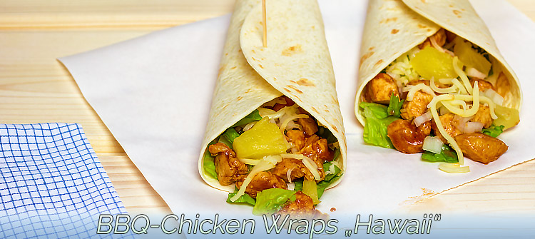 "Artikelbild - Chicken Wraps ""Hawaii"""