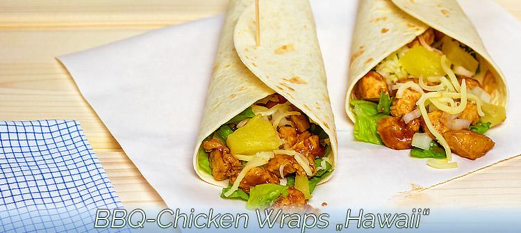 """Artikelbild - Chicken Wraps """"Hawaii"""""""