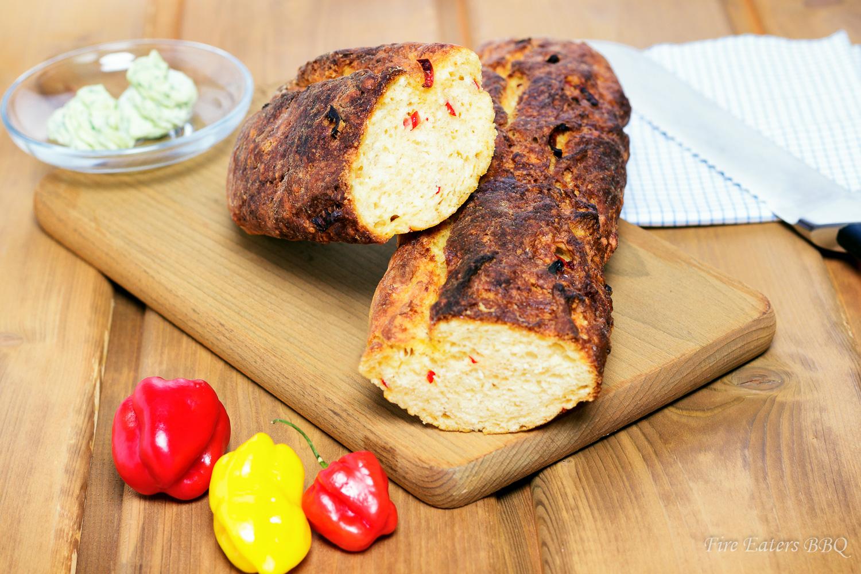 Foto - frisches Chili-Baguette