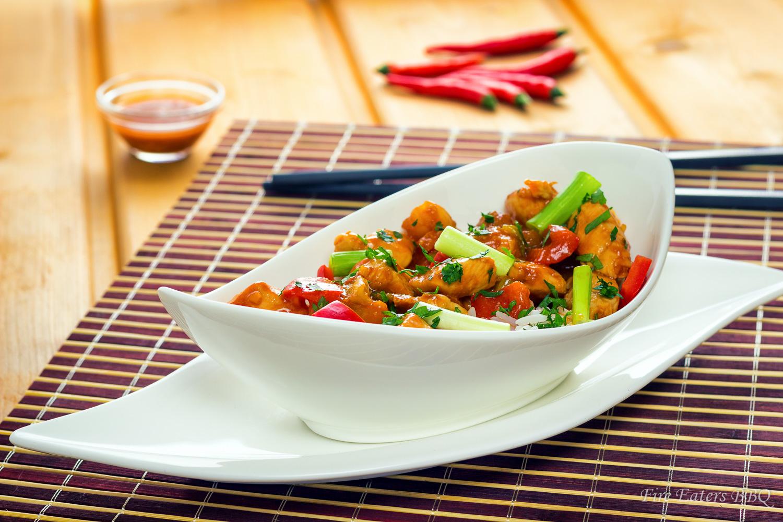 Foto - Hähnchenbrust süß-sauer mit Reis