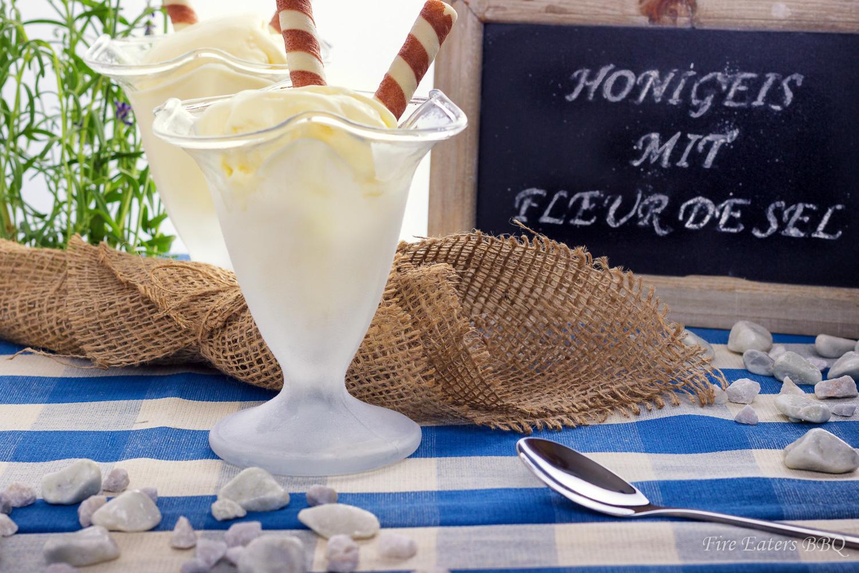 Foto - Honigeis mit Fleur de Sel