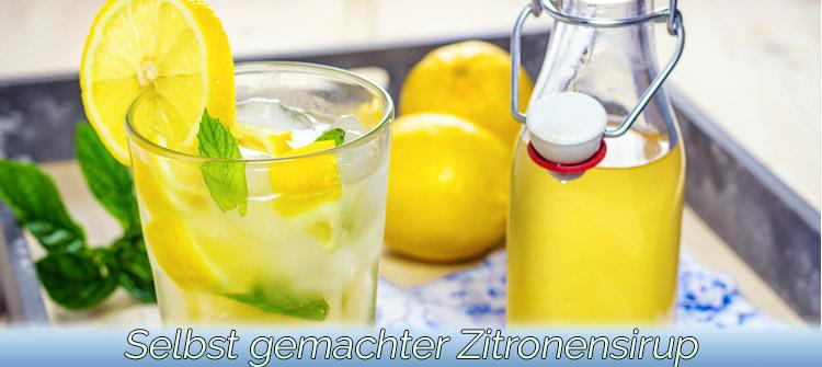Artikelbild - Zitronensirup