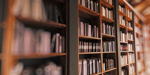 Foto - Bücherregal - Unsere Buchempfehlungen