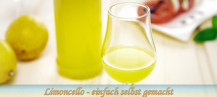Bild - selbst gemachter Limoncello