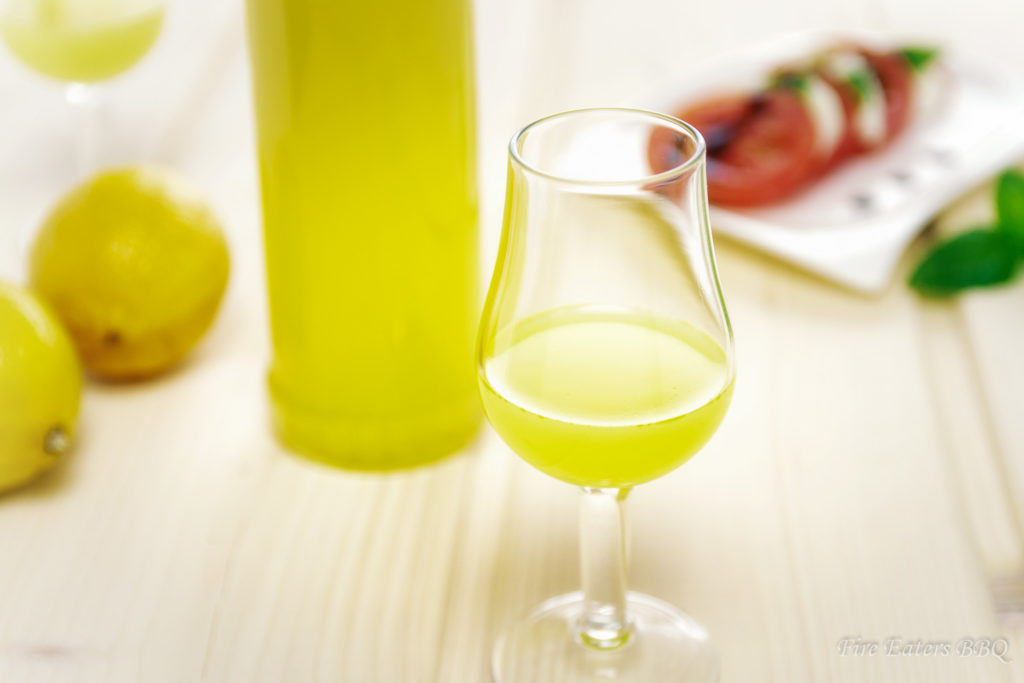 Foto - selbst gemachter Limoncello