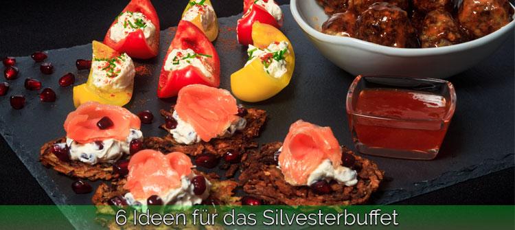 Artikelbild - 6 Ideen für das Silvesterbuffet
