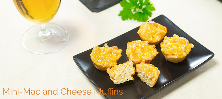 Beitragsbild - Mini Mac and Cheese Muffins