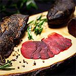 Rezeptfoto - Wildschweinschinken aus dem Kaltrauch