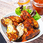 Rezeptfoto - Hot Chicken Wings