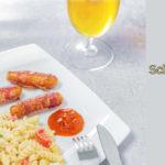 Schneller Nudelsalat mit Tzatziki