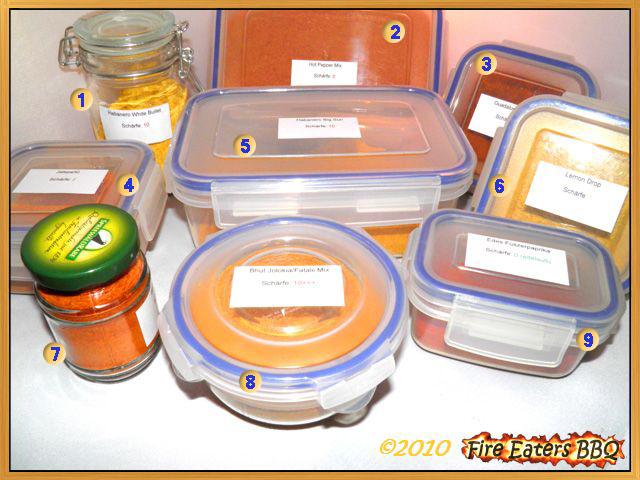 Unsere Chilipulver-Herstellung 2010
