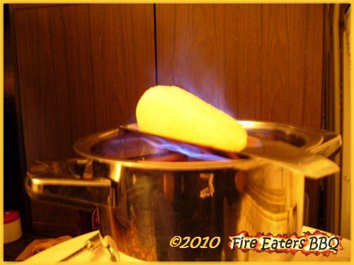 Feuerzangenbowle am Sylvesterabend