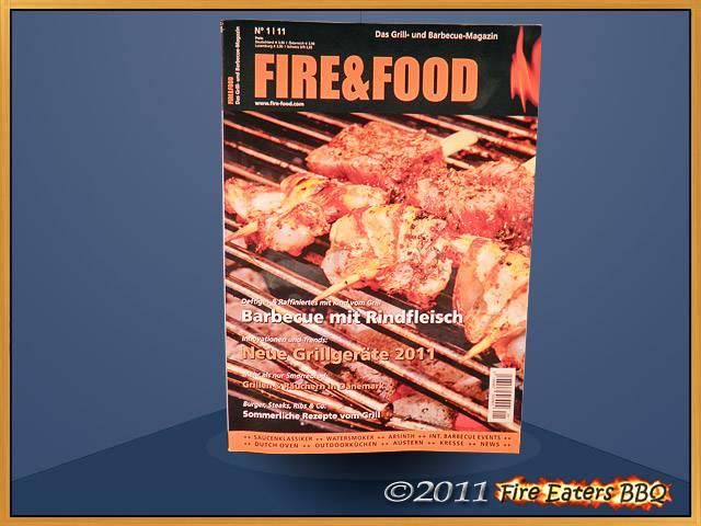 Neue Ausgaben von Fire&Food und Grill-Magazin