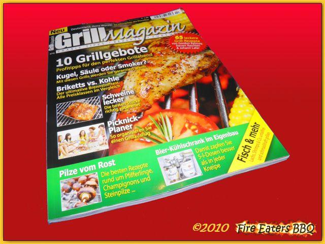 Grill-Magazin Ausgabe 2/10 im Handel