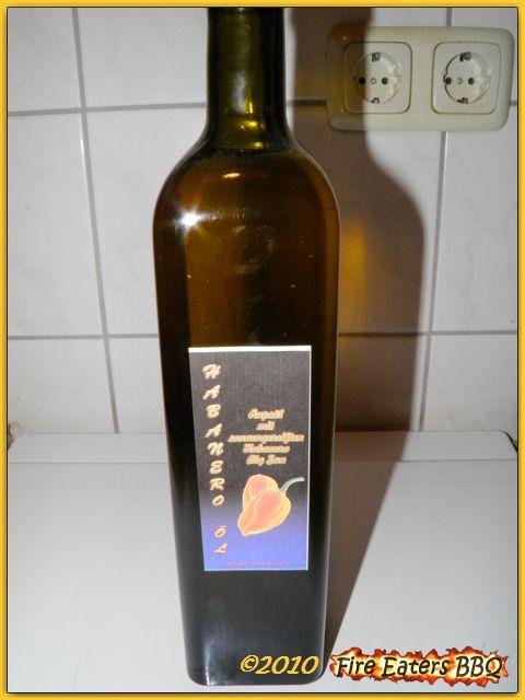 Habanero-Öl