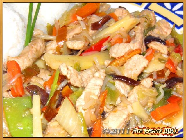 Asiatisches Ingwer-Fleisch